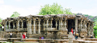 Thousand Pillar Temple in Telangana