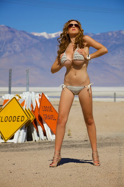 Jordan-Carver-Busty-Photoshoot-Road-Sign-Pic-11