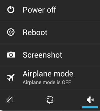 Cara Mudah Menyesuaikan Menu Matikan di Android 2