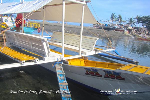 Boat Jump-off to Pandan Island, Sablayan - Schadow1 Expeditions