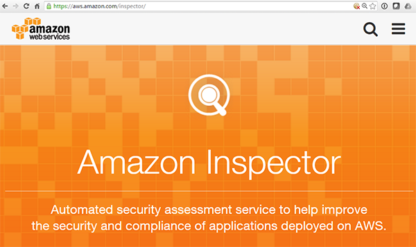 Converge! Network Digest: AWS Adds Security Inspector Tool