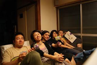 Hiroshi Mac Knight, Miho Shin-Chan, el pequeño viajero, Miyuki Boom Boom y  Yoshito Justice!!!