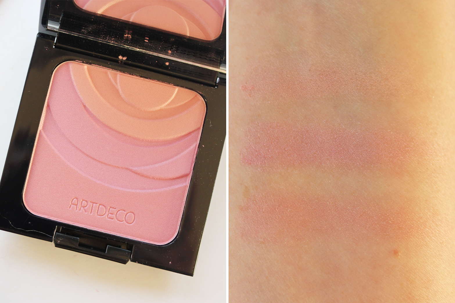 ARTDECO | Emilio de la Morena Collection - Review + Swatches - Blush Couture Blush - CassandraMyee
