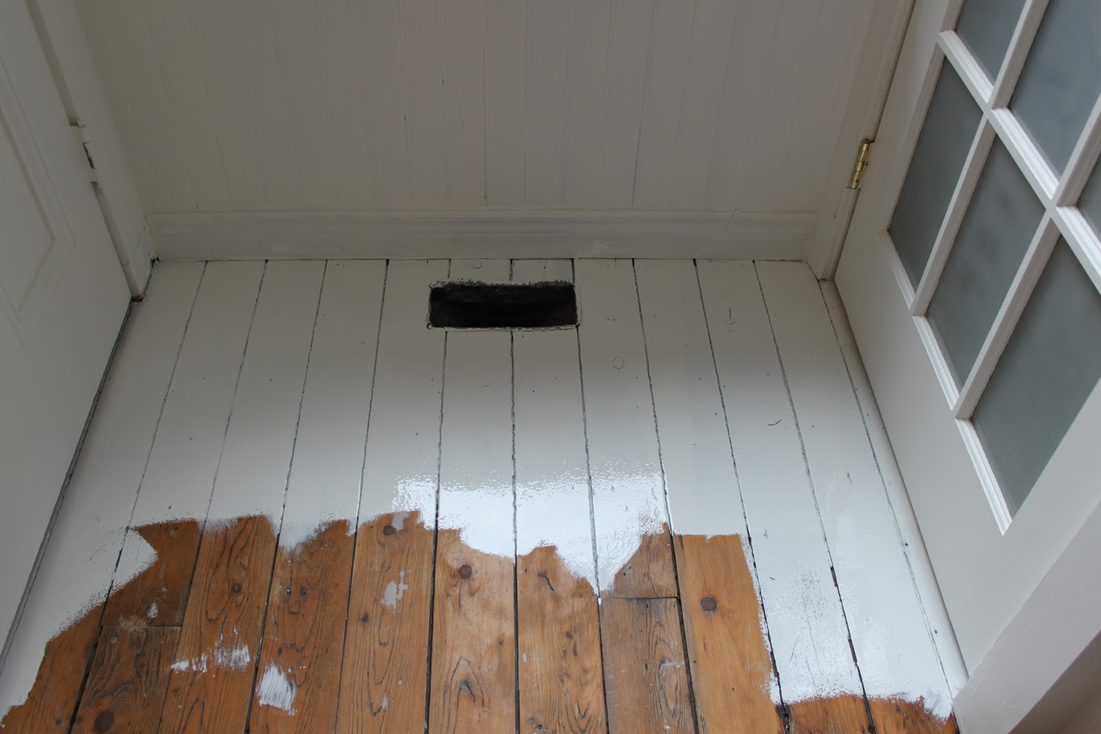 Modern Jane: White Painted Floor