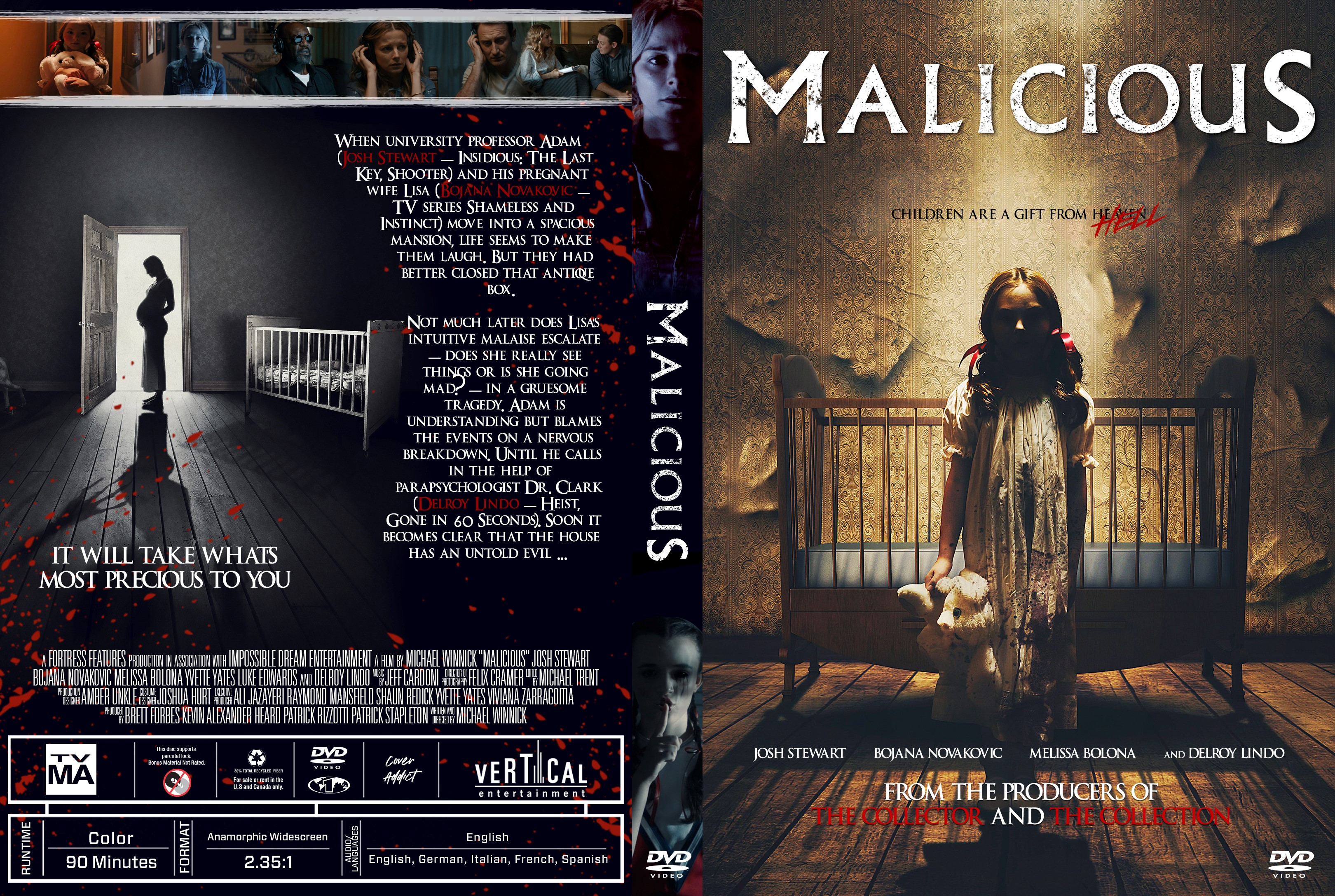Malicious DVD Cover | Cover Addict - Free DVD, Bluray ...