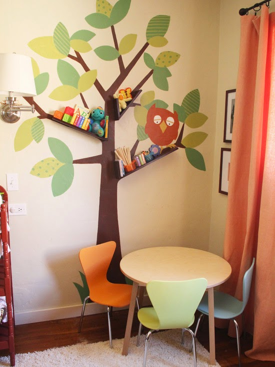 Houze Idea Cute Bookshelf For Kids Room