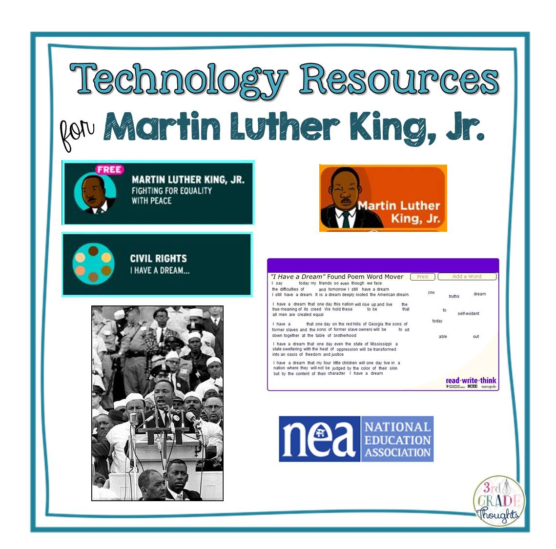 Technology Resources For Martin Luther King Jr Day
