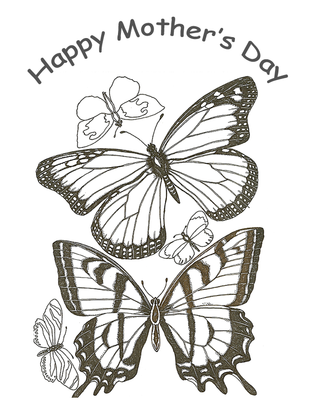 Free Coloring Pages: Mothers Day Coloring Pages To Print
