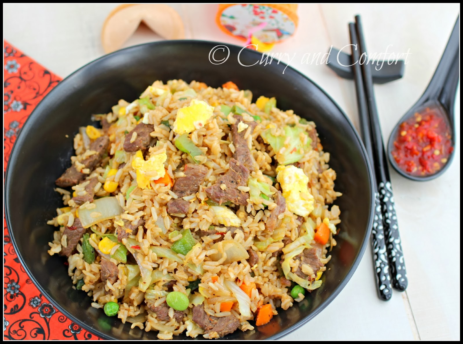 Kitchen Simmer Hoisin Beef Fried Rice