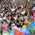 Mais de 80 crianças foram batizadas com o Espírito Santo em Manaus, Amazonas Brasil.