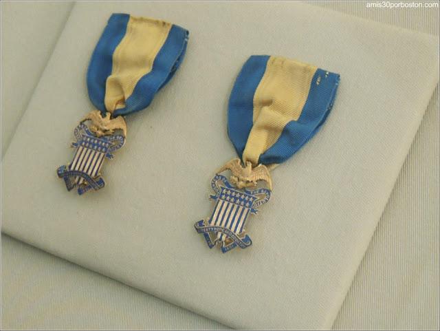 Medallas de la Familia Ropes, Salem