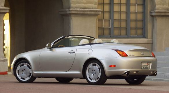 The 2005 Lexus SC430