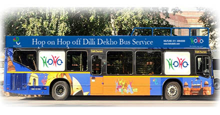 Hop On Hop Off Bus service of Delhi