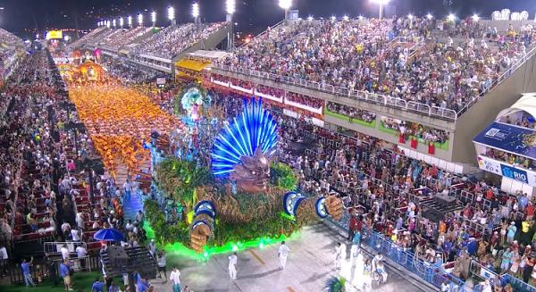 Karnaval Rio De Janeiro, Brasil