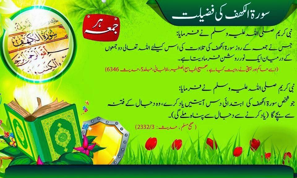 Jumma Mubarak Hadees In Urdu