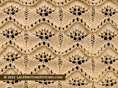 #Lace Knititng. Chart No.3. Elegant and ethereal