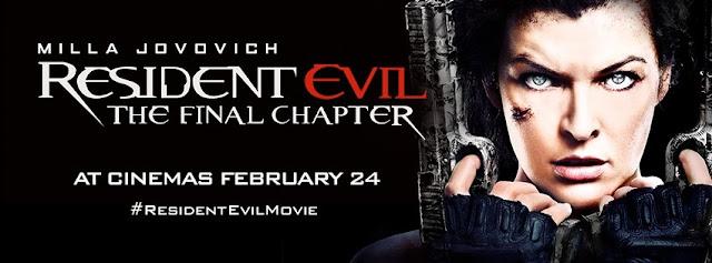 posterul filmului Resident Evil Capitolul final