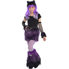 Monster High Party City Furry Monster Outfit Child Costume
