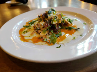 Charred Spanish Octopus, Paladar, restaurant, seafood, appetizer
