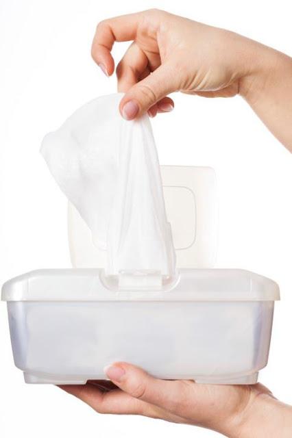 Untuk Bunda : Tips Cara Membuat Tissue Basah Sendiri Dirumah