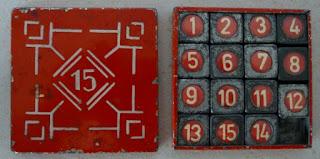 układanka 15-puzzle taquin