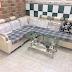 Bán bộ sofa góc nệm vải cũ SF11 giá rẻ