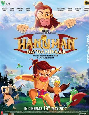 Hanuman Da Damdaar 2017 Hindi WEB HDRip 480p 300Mb