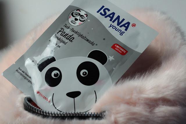 Review: Isana young Tuch-Feuchtigkeitsmaske Panda - Beruhigend #isanayoungtiergesicht Limited Edition