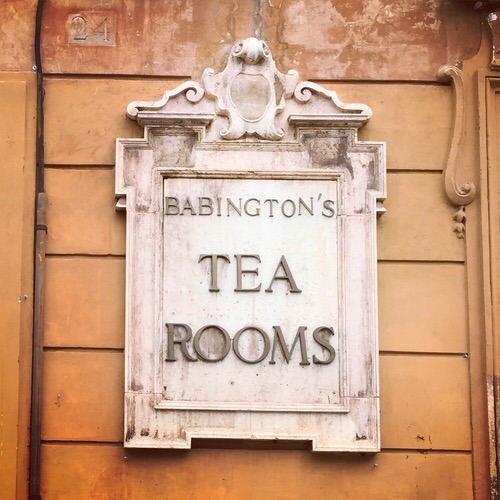 Babington's Tea Rooms, Rome, Italy