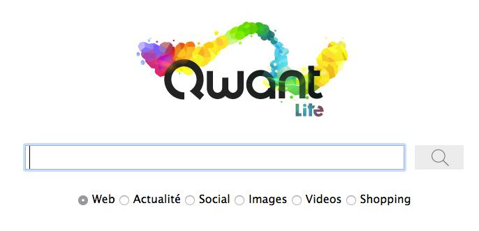 Utiliser Qwant Lite par défaut avec Firefox et Google Chrome  Qwant-lite-search