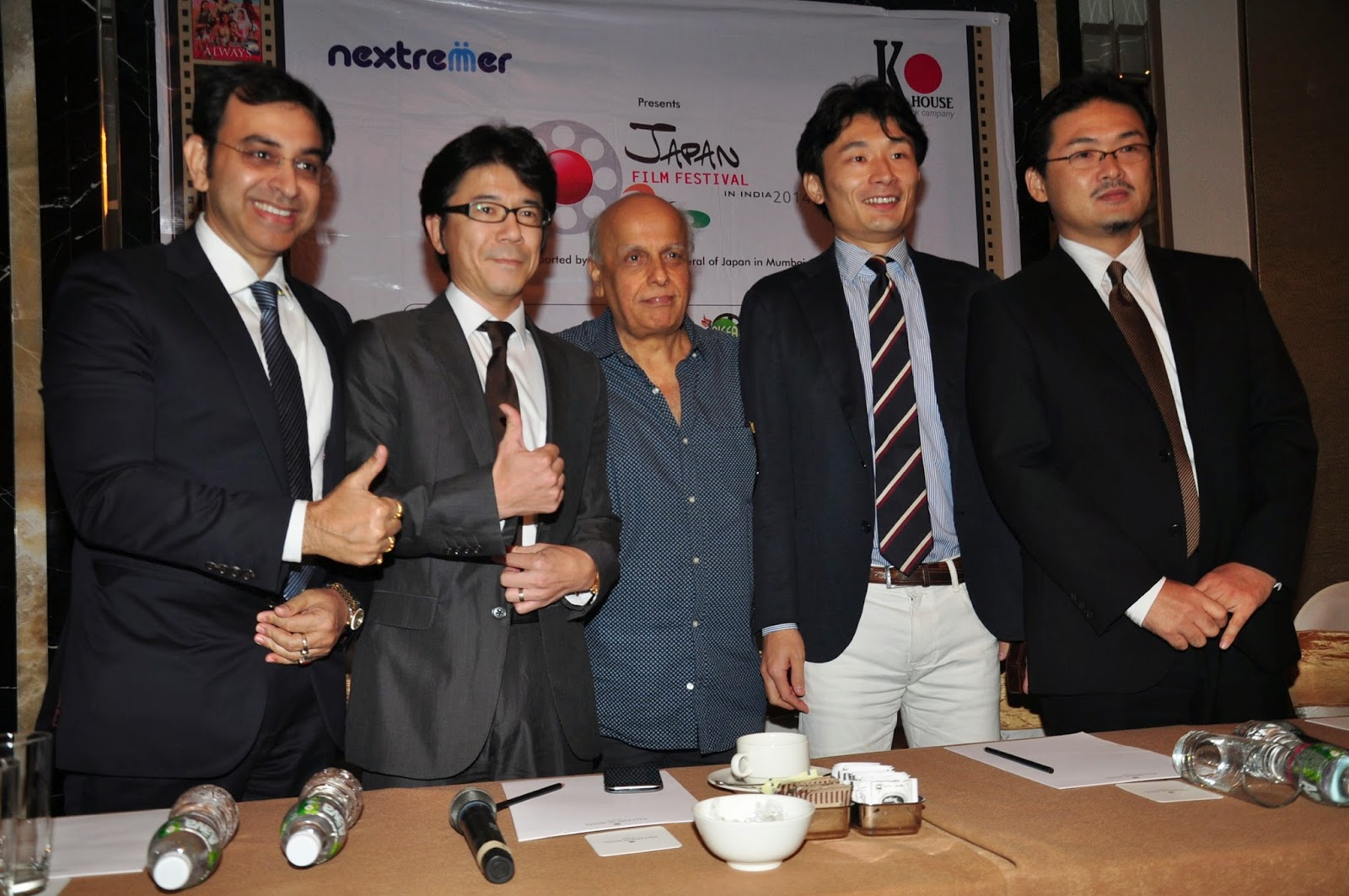 Mahesh Bhatt at 'Japan Film Festival 2014' announcement