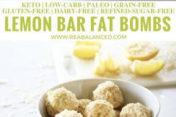 Lemon Bar Fat Bombs