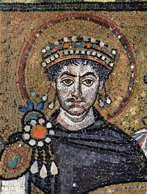 Ravenna , basílica de San Vitale, emperador Justiniano