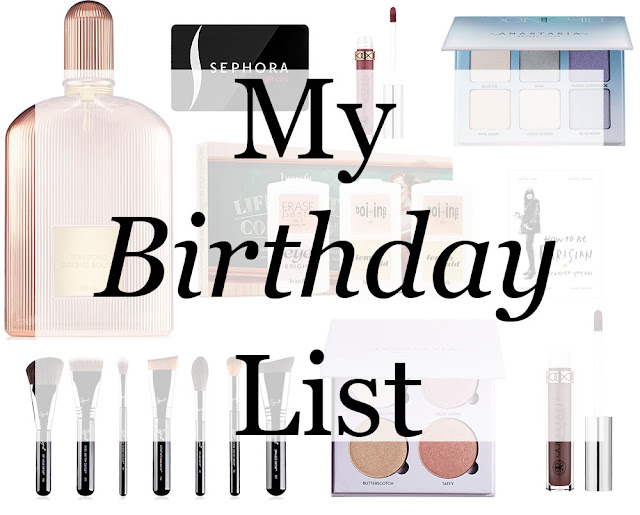 My Birthday List
