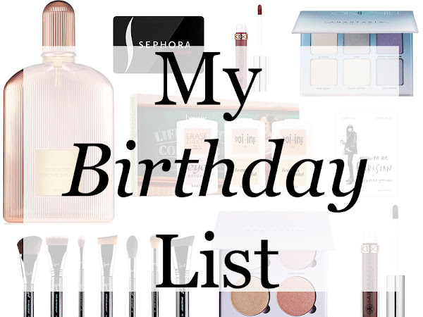 My Birthday Wish List