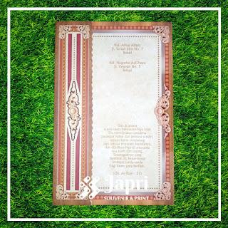 Cetak Undangan Pernikahan dan Khitanan Blangko Maliq 43