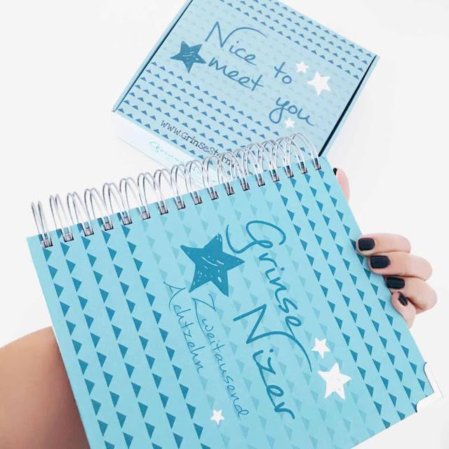 GrinseStern, GrinseNizer, Mininizer, Papier, Kalender, Terminplaner, Lifestyleplaner