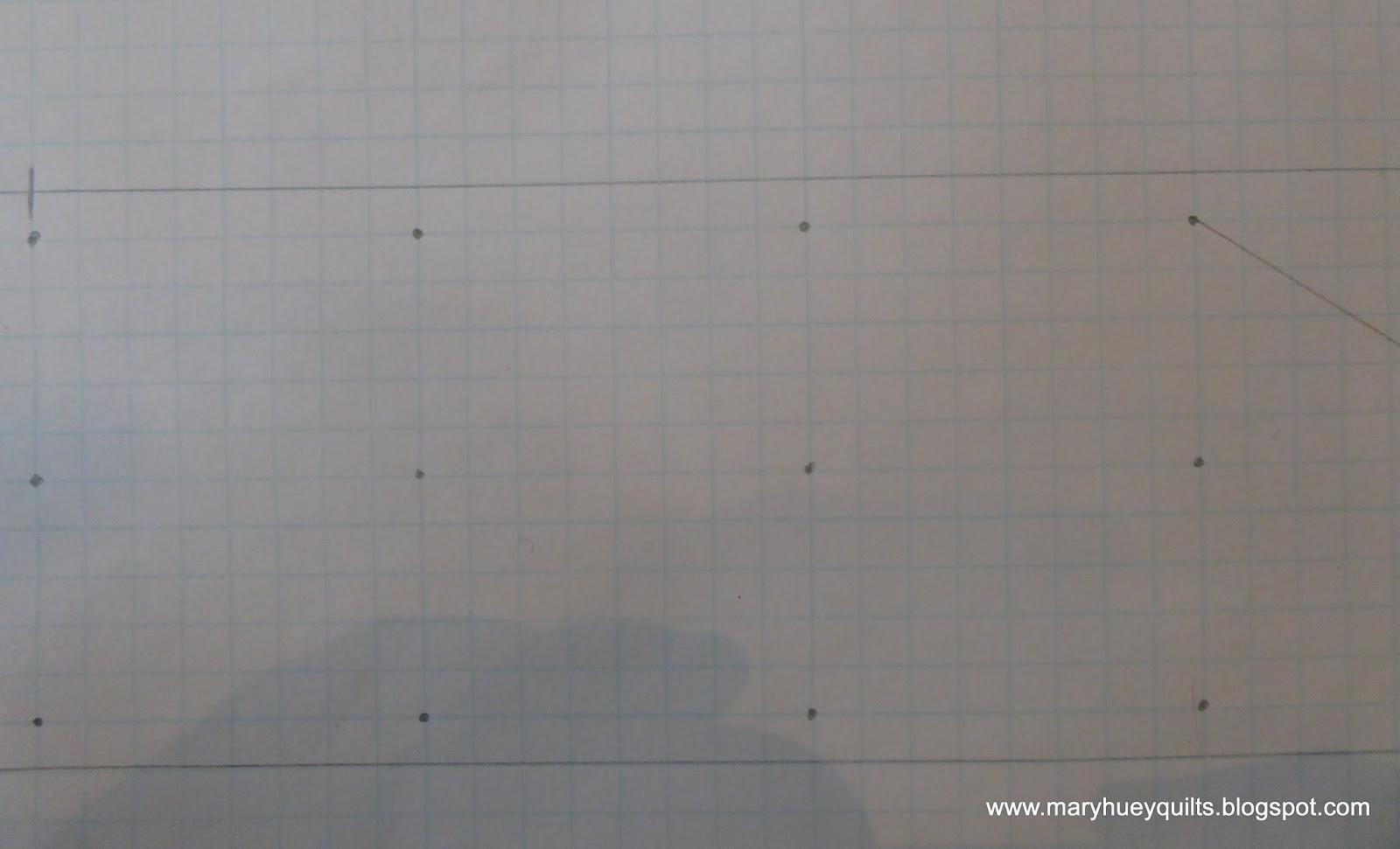 5 Segments Line And 12 Dots