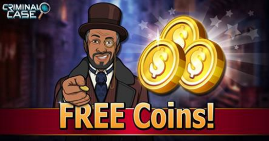 Free Coins 😇 Criminal Case Free Energy Criminal Case