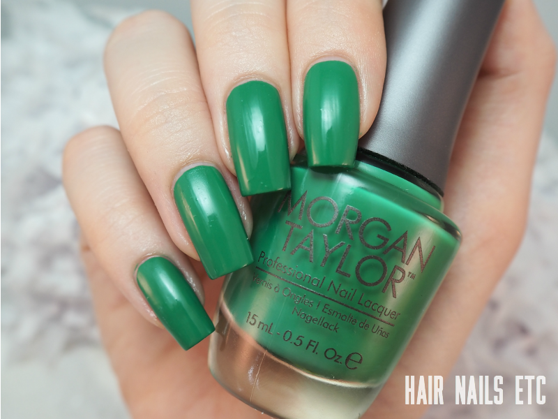Morgan Taylor - Later Alligator - Swatches and Review