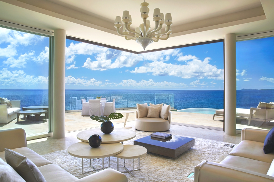 Passion for luxury the cliffs virgin gorda british virgin islands the cliffs is a collection of three one bedrooms suites which are part of the oil nut bay resort in the hard to reach unless you have a helicopter sciox Choice Image