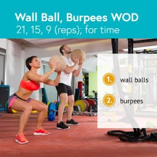 5 CrossFit Training for Beginners as a Fat Burning Exercise - Wall Ball, Burpees