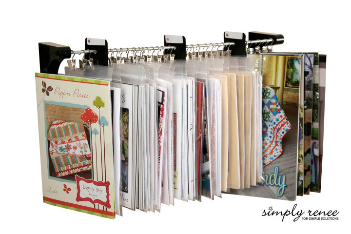 Craft Room Organizer Systems: It's Written On The Wall: {Gotta See}Clip It Up Storage