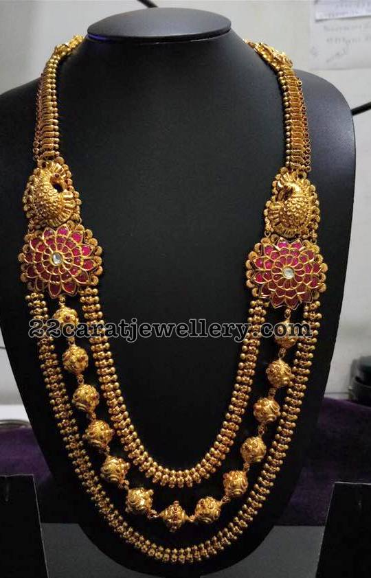 Antique Haram with Ruby Side Motifs