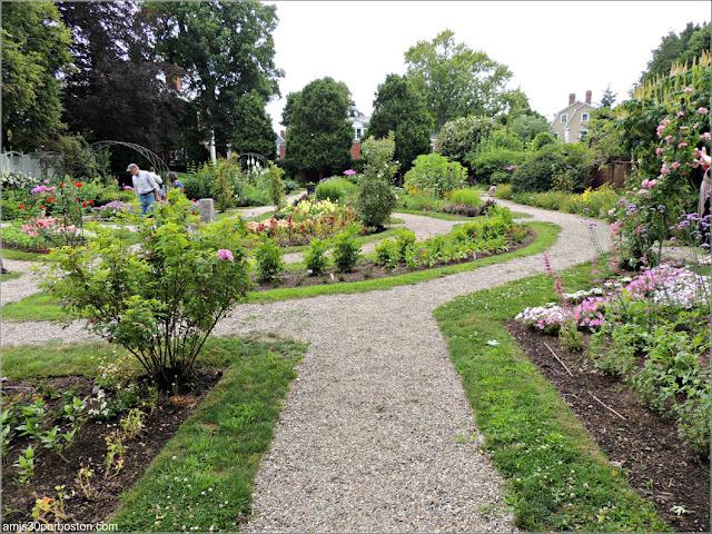 Jardín de la Mansión Ropes en Salem