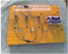Cara membuat rangkaian seri dan paralel