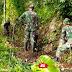 Personel Koramil 0821/07 Randunagung dan Poktan Sae Karya Membuat Irigasi Tersier