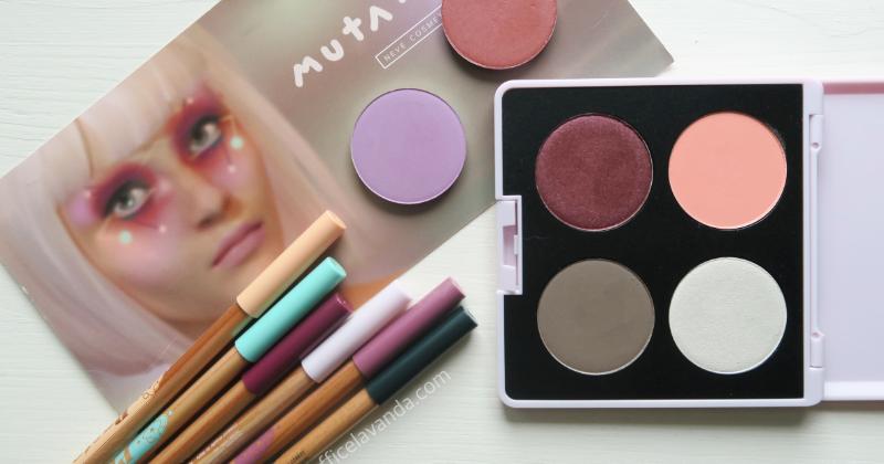 Neve cosmetics collezione Mutation: prime impressioni, swatches, comparazioni (ombretti & matite occhi)