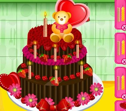 لعبة تزيين الكعك