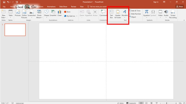WordArt, Text Box